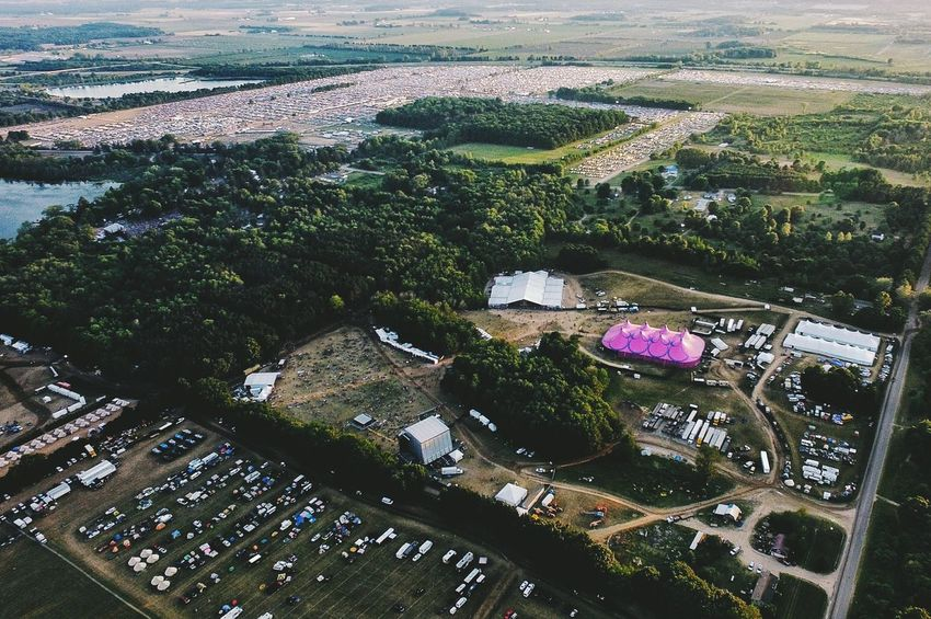 Music Brings Us Together Electric Forest A Bird's Eye View