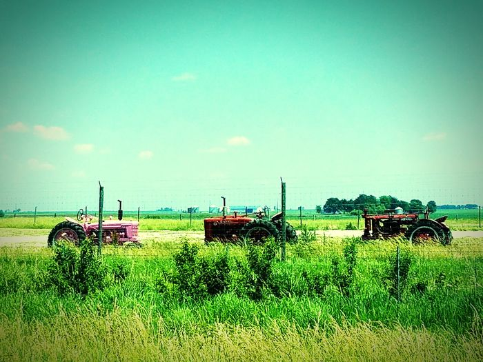 Tractor Tractors Hello World Country Life Country Living