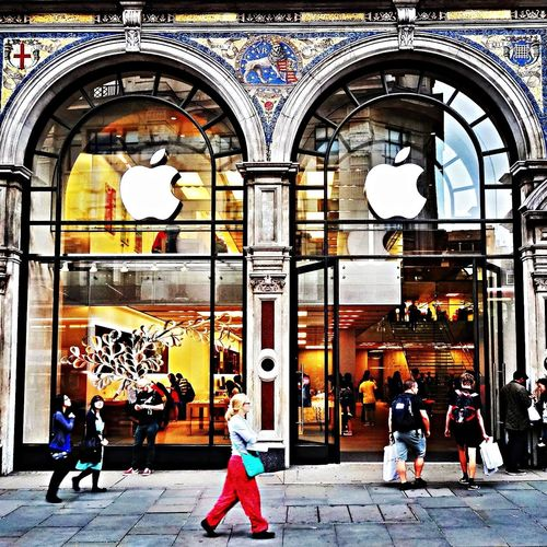 Apple Store Regent Street London IPhoneography EyeEm Best Edits Check This Out London