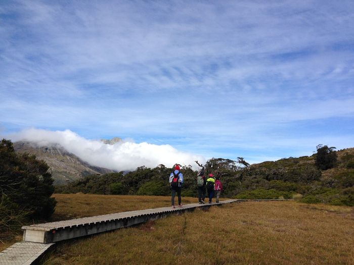 / Just Walk Together I, NZ, 2015 / Key Summit Alpine Nature Walk Mother Nature Activity Adult Beauty In Nature Cloud - Sky Day Environment Group Of People Hiking Key Summit Track Lifestyles Men Mountain Nature New Zealand Outdoors People Plant Real People Scenics - Nature Sky Women