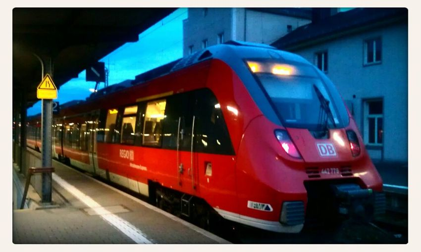 Public Transportation Railway Germany Nahverkehr EyeEm X Vice Do