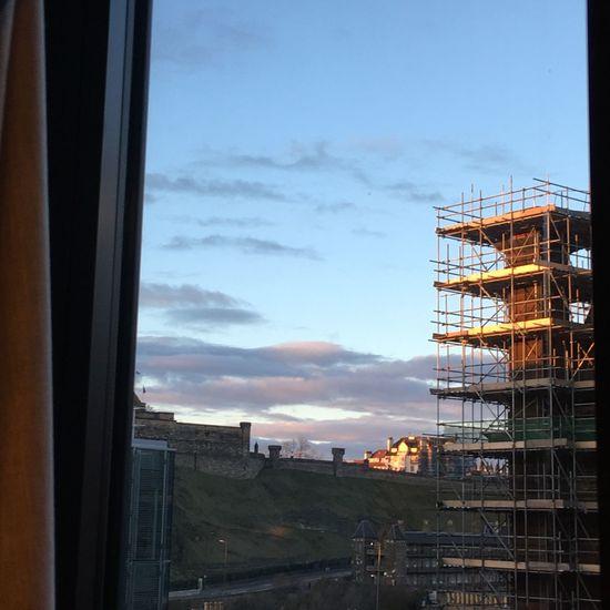 Thinking Sunset Castle