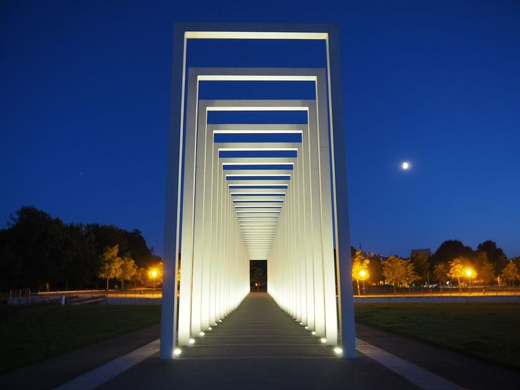 Night Illuminated The Way Forward Architecture City Blue No People Travel Destinations Clear Sky Cityscape Schwerin Mecklenburg-Vorpommern Outdoors Magical Moments Bestvacations Streetstyle Happy Photography Photooftheday City View  Travelgram Magical Places Built Structure Bestview