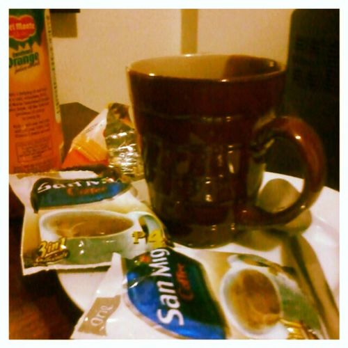 Pangalawang kape mo na brad... sige push mo yan Sanmigcoffee Coffeelover .... Coffee :)