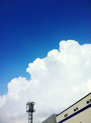 Sky Summer Thunderhead Japan IPhone IPhone 4 IPhoneography