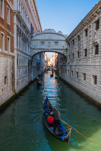 Architecture Boat Bridge - Man Made Structure Building Exterior Canals City Cultures Europe Gondola - Traditional Boat Gondolier Italian Lagoon Love Nautical Vessel Outdoors Ponte Dei Sospiri Romance Tipical Tourism Traditional Travel Travel Destinations Vacations Water Whishes