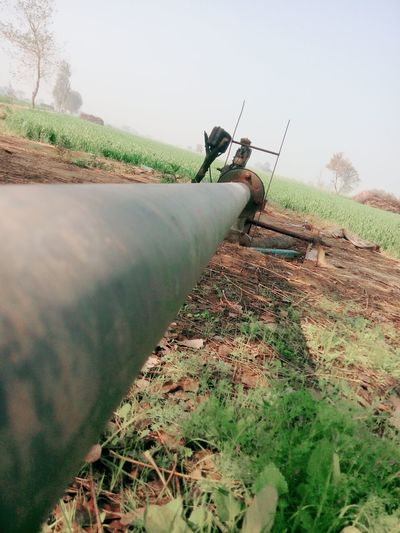 Tubewell Indian Tubewell Underground Machinery Farming Equipment Farming Life Long Pipe Groundwater Exploration