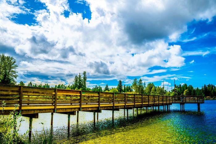 Silver Lake Evergreen State Washington Pacific Northwest  Livewashington Washington State