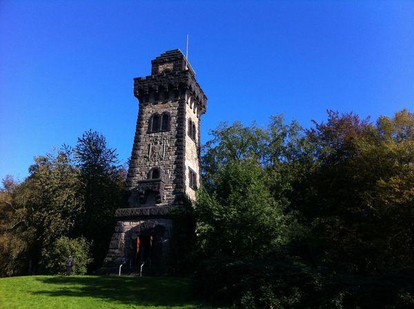 Tadaa Community Architecture History Blue Sky Bismarck Tower Bismarckturm