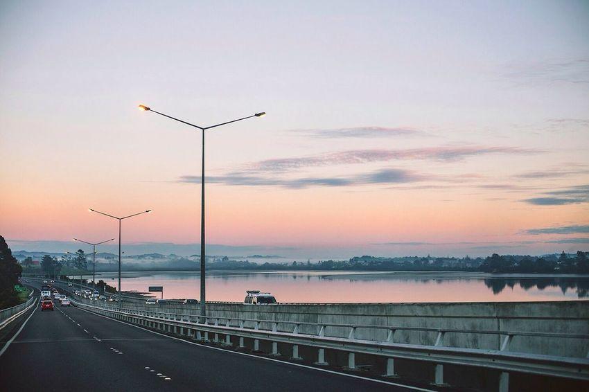 North Western Motorway, Auckland, New Zealand.