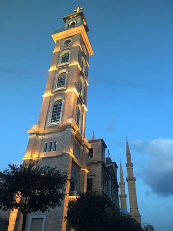 Architecture Tower Religion Place Of Worship MyLebanon LiveLoveLebanon Beirut Afternoon Afterwork While Driving Mycity EyeEmNewHere EyeEmNewHere EyeEmNewHere