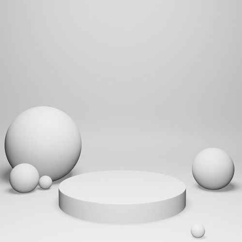 Close-up of balls on white background