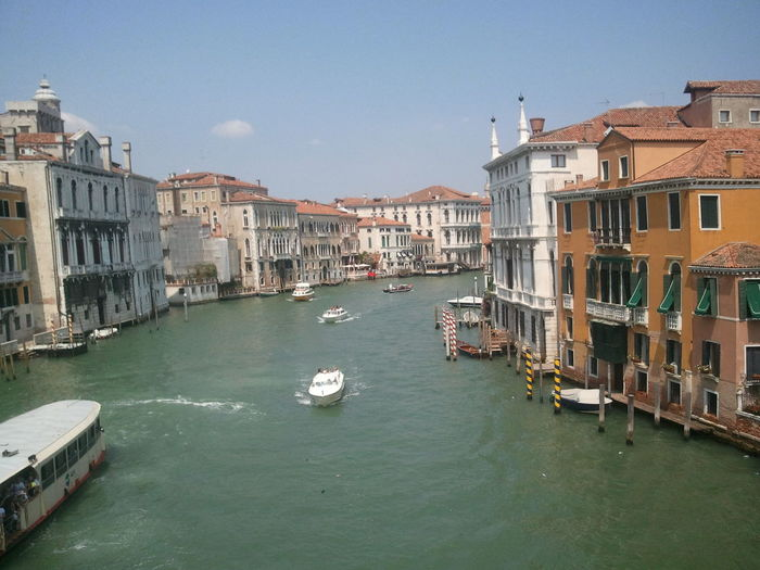 Grand canal amidst buildings in city