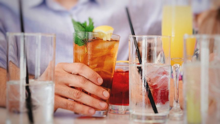 Refreshment Drink Food And Drink Indoors  Glass Human Hand People Drinking Glass Hand Alcohol Selective Focus