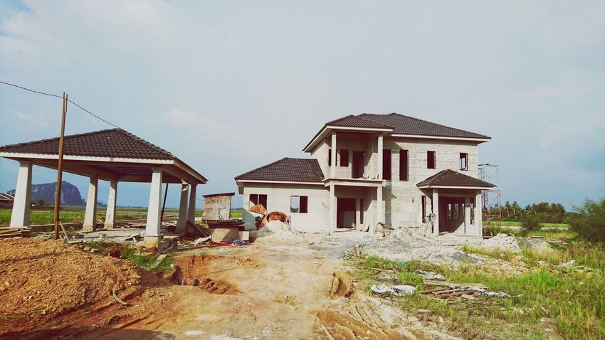 Built Structure Architecture House No People At Alor Setar Malaysia Sony Xperia Z5