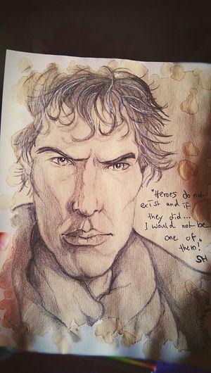 Sherlockbbc Sherlock Art, Drawing, Creativity This Is My Art!!! My Drawing Sherlock Holmes Sherlocked ArtWork My Hobby :)