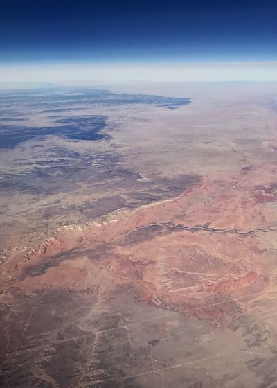 Ridge line and river drainage in Western USA. Vertical Desert Colors Desert Rugged Landscape Ridge Line Drainage River System Western USA Aerial View Nature Beauty In Nature Scenics Tranquil Scene Tranquility Landscape Arid Climate View Into Land Day The Natural World Outdoors