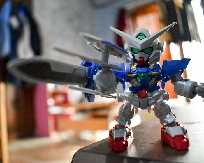 Gundam Model Gundam Gundam Build Fighter GundamExia Toy Gundamcollection Close-up Business Finance And Industry Technology Indoors  Innovation Science Futuristic No People Industry Day Architecture Metal Industry First Eyeem Photo