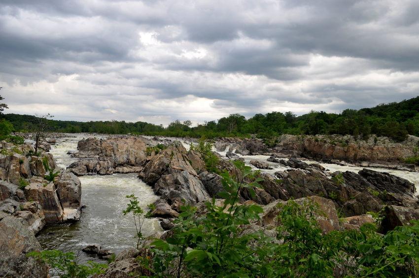 Virginia Niagra Beauty In Nature Cloud - Sky Farhanatimes Landscape Nature Potomac Potomac River Water The KIOMI Collection EyeEmPhoto