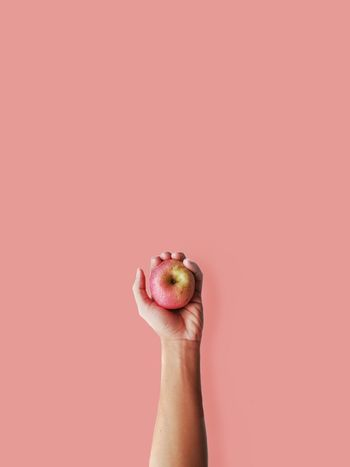 People will treat you like a bad apple until they run out of apples. Apple Hand Holding Minimal Minimalist Vscocam VSCO Minimalistic Minimalmood Rsa_minimal Minimalove Lessismore EyeEm Best Shots EyeEmNewHere EyeEm Gallery EyeEmBestPics Visual Creativity This Is My Skin EyeEm Selects Human Hand Pink Background Holding Studio Shot Pink Color Close-up Personal Perspective Body Part Finger Human Finger Fingernail The Still Life Photographer - 2018 EyeEm Awards