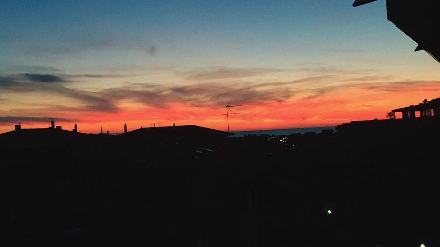 Leghorn Italy Sunset Sky Nature Sky And Sea