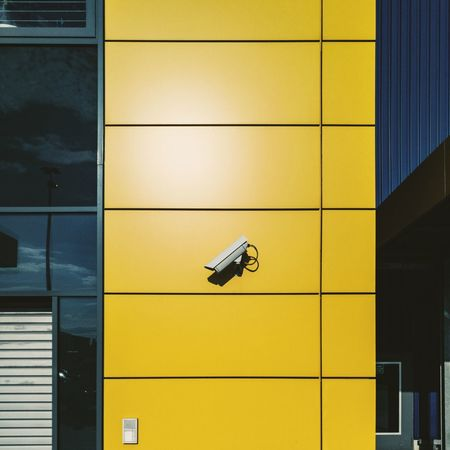 Architectural Detail Architecture Architecturelovers Clean Fassade Minimal Minimalistic Minimlism Modern Modern Architecture Yellow Yellow Color Paint The Town Yellow