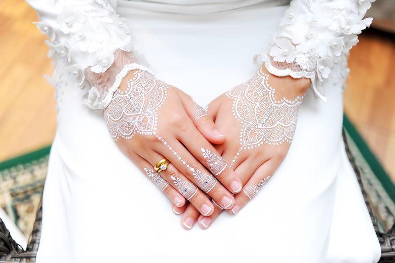 white henna and