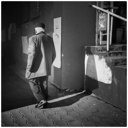 One Person Men Real People Day One Man Only Adult Shadows Shadows & Lights Shades Of Grey People Black & White Minsk,Belarus Streetphotography