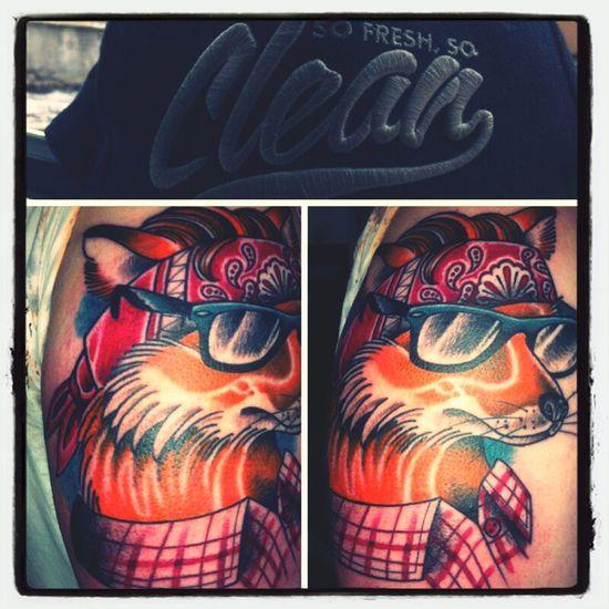 Tattoo Fox Art