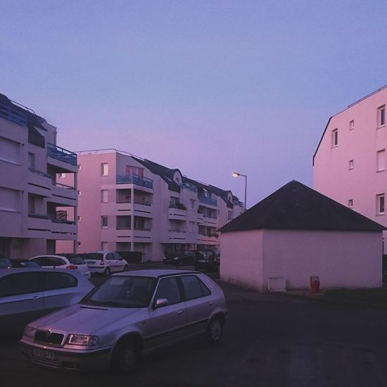 Sky Pink Pinksky Vintage Building Exterior Car Architecture Sunset Pınky First Eyeem Photo Vaporwave Retro
