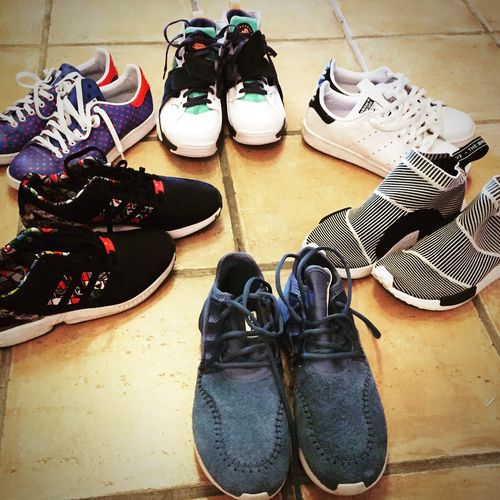 Sneakers rotation NMD Sock Huarache STAN SMITH Tubular Zx Flux
