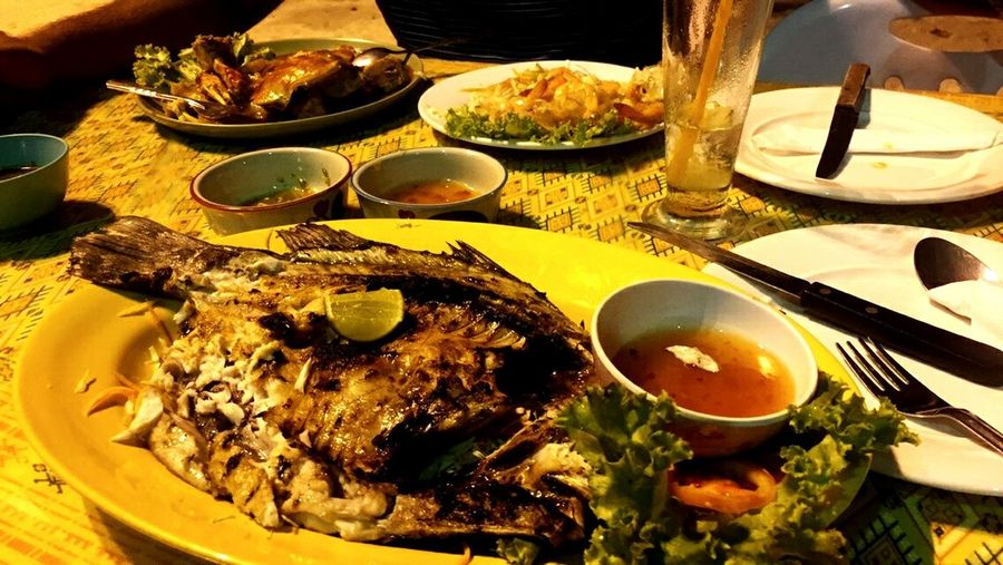 Cooked Seafood Cooked Fish Food Healthy Eating No People Ready-to-eat Dish Of The Day Fish Dinner Freshness Amazing Food