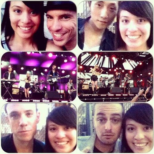 Met my favorite band of all time!!!❤❤❤ @Airborne_Toxic @666noah @mikel_jollett @fabricoh @annabulbrook & Daren!!! :D Theairbornetoxicevent Jimmykimmellive
