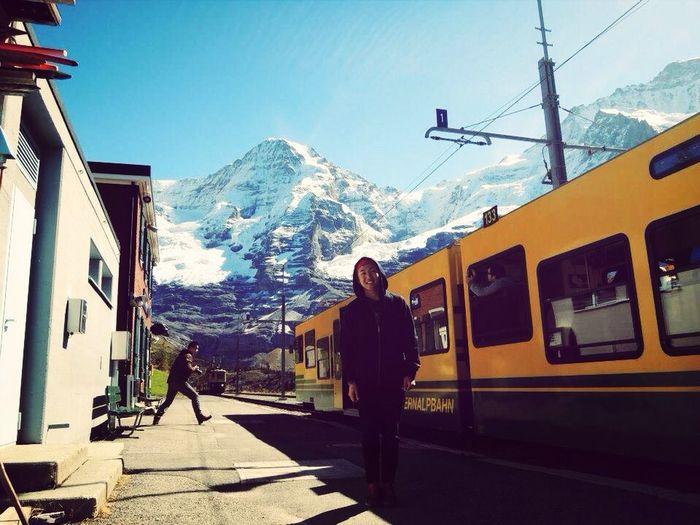 Traveling Switzerland Train
