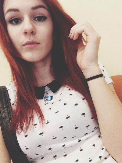 School Boredom Redhead booooooring
