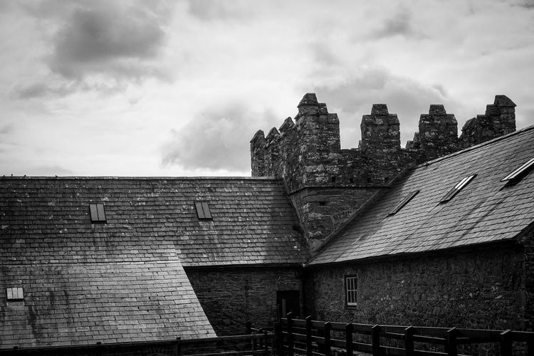 Game Of Thrones Winterfell Historical Building Historical Place Black & White Black And White Blackandwhite