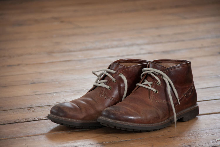 Messing around with a new camera Boots Close-up Floorboards Flooring Footwear Shoes Wood - Material Wooden