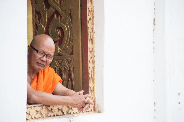 Fotografía de un monje budista Tailandia. Monje First Eyeem Photo