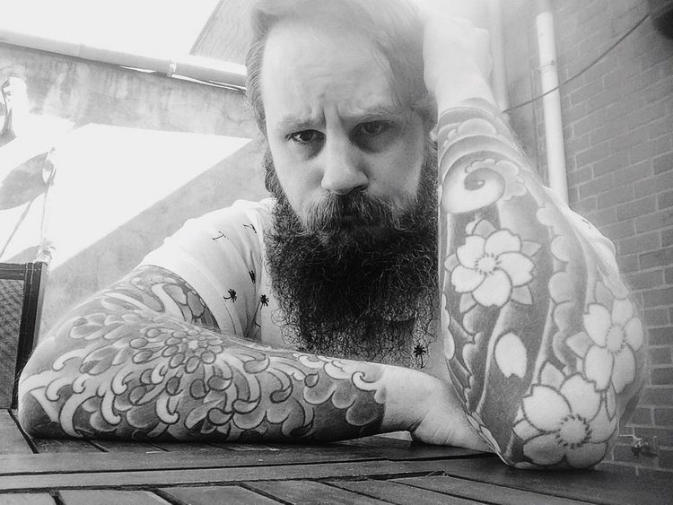 Single Ig Inked Beard Ink Tattoo Barberlife Tattooed Summer Summertime