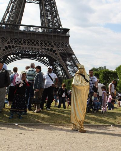 Eiffel Story Eiffel Tower Eiffel Traveling Travel Photography Gold Human Statues