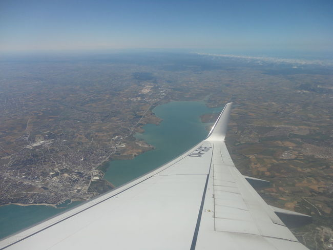 Sky Aerial View Landscape Sea No People Scenics Water Outdoors Day Cold Temperature Nature Winter Sky Airplane City