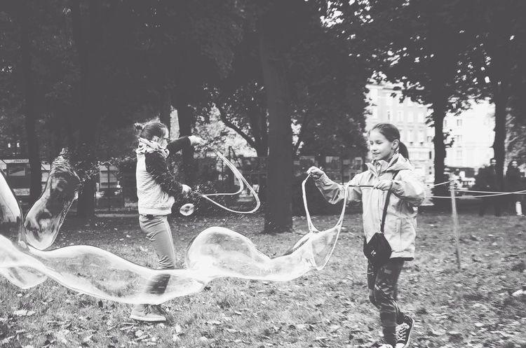 Everyday Joy Blackandwhite Soap Bubbles Capture The Moment
