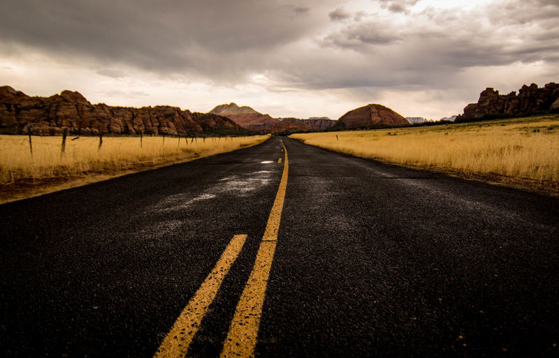 ExploreEverything Tranquility Transportation Travel Photography Zion National Park Amazing Discovery Explore Landscape Moody On The Road Outdoors Road Scenics The Way Forward