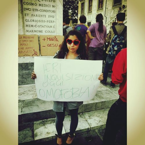 What Makes You Strong? Human Rights Manifestation Nohomophobia
