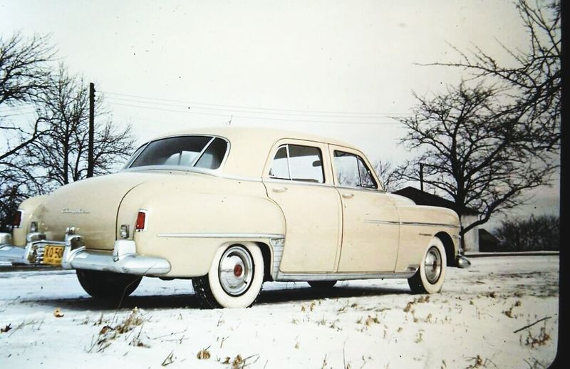 Vintage slide taken by my granfather..in the 1940s Vintage Cars Vintage Photo 1940s Chrysler
