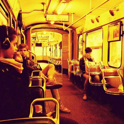 Paint The Town Yellow Torino ❤ Turin Town Life City Bus Retro Vintage Yellow First Eyeem Photo