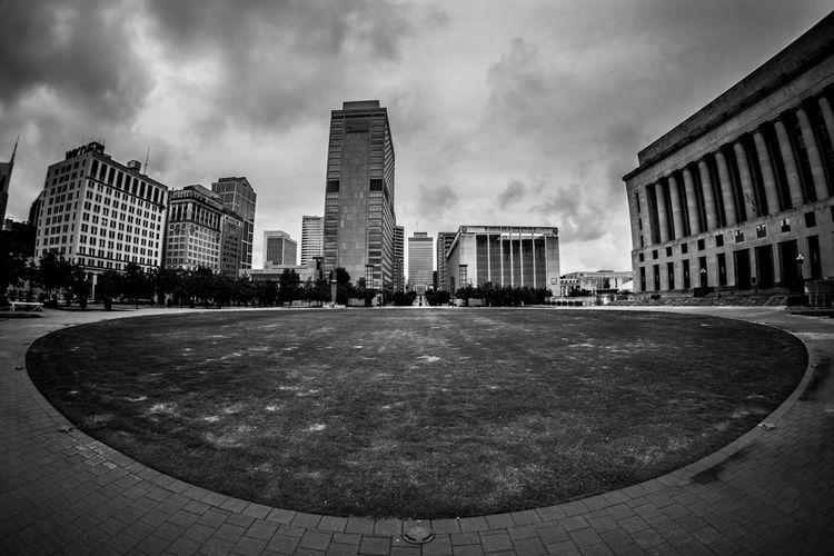 Downtown Nashville at the Green Blackandwhite Eye4photography  Architecture Nashville