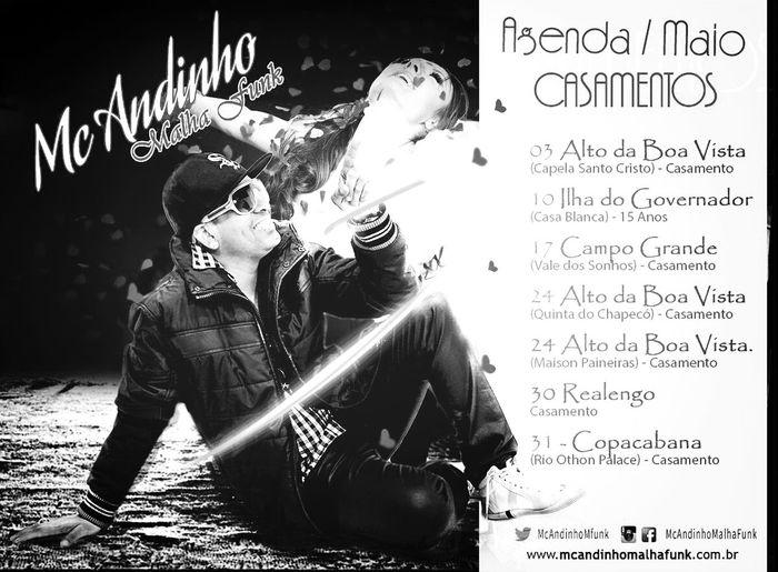 Agenda De Eventos (Shows) Casamento Mc Andinho Malha Funk