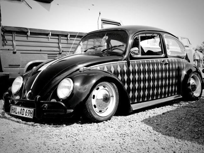 Käfer Käfertreffen Oldtimer Oldtimerautos Car Karomuster Old Vintage Cars