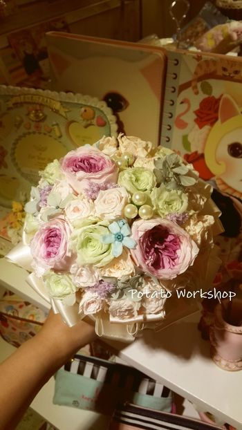 "Hello dear all, l hope everybody can chick a ""like"" my Facebook page! Thank you so much https://m.facebook.com/profile.php?id=559342217409135 Wedding Wedding Bouquet Flower Potato Workshop"